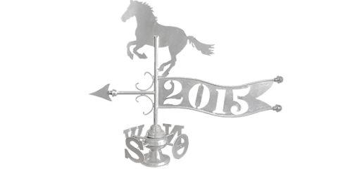 Wiatrowskaz motyw koń