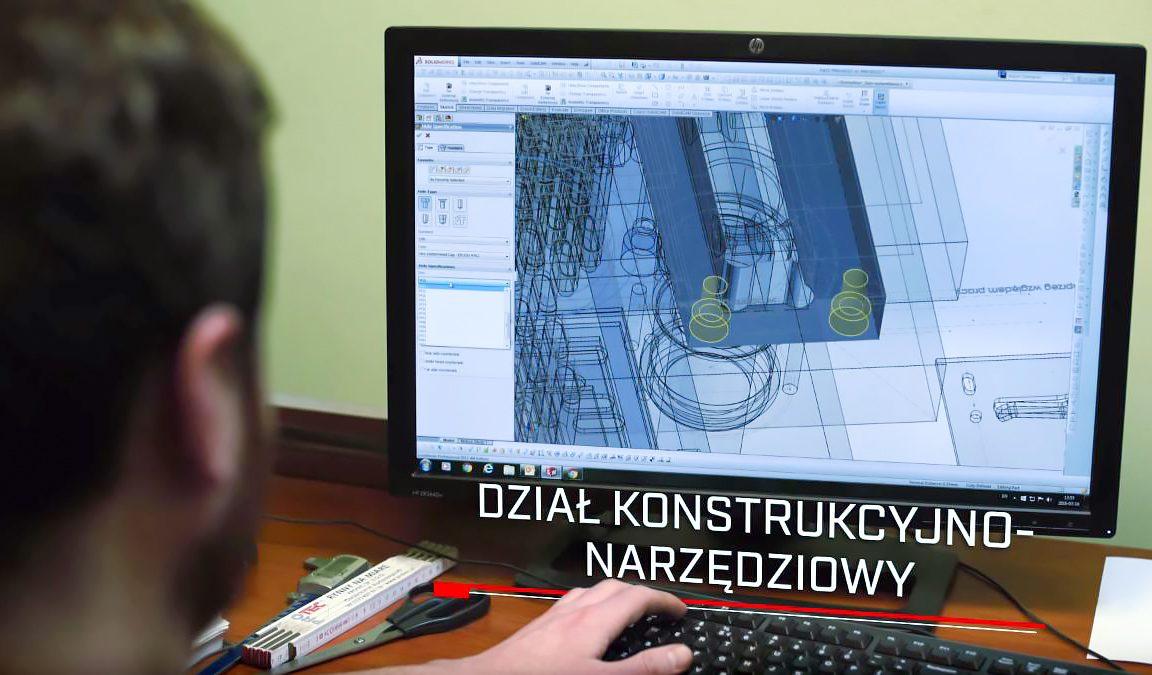 Protec Sp. z o.o. Dział konstrukcyjno-narzędziowy
