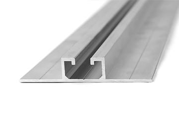 Profil aluminiowy montaż pionowy
