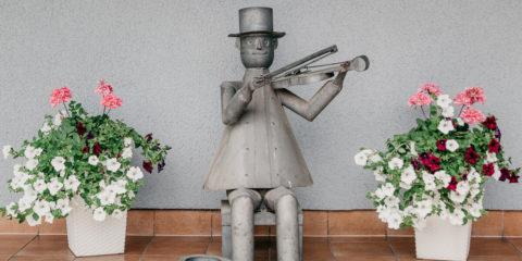 kominiarz figura, kominiarz ozdobny
