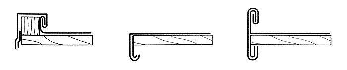 Swobodne krawędzie boczne dachu bez deski brzegowej